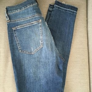 """J.Crew Jeans Toothpick style Jean 10"""" Highrise 27"""